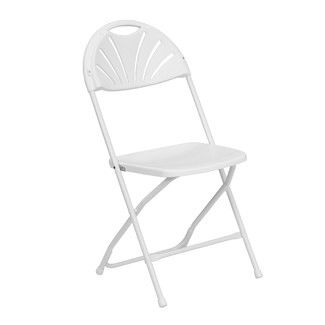 Chair, Plastic Folding (White)