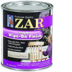 Finish, Zar Tung Oil Wipe-On Finish (Gallon)