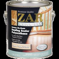 Sealer, Zar Quick Dry Sanding Sealer Polyurethane 1-Gal