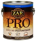Finish, ZAR® Pro Interior Quick Dry Polyurethane (Gallon)