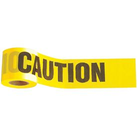 "Caution Tape 1000' x 3"" 1-Roll"