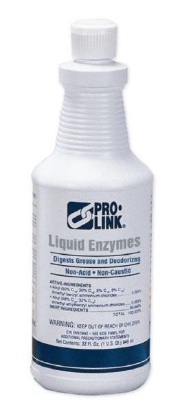 Liquid Enzymes Drain Maintenance, Pro-Link (Quart)