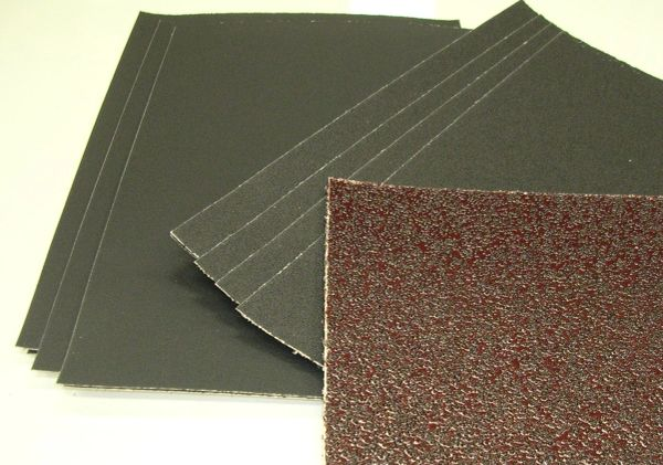 "Sandpaper, Sheet 8"" x 11' (Garnet Paper, Wet, or Emery)"