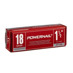 "Nails, Hardwood Flooring (1-1/2"" 18 Gauge) 1000/Box"