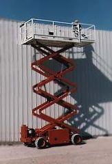 Lift, Scissor (Rough Terrain) 32'
