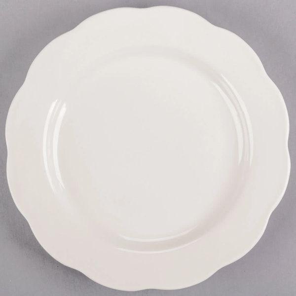 "China, Plate 10"" Jackson - Scalloped Edge"