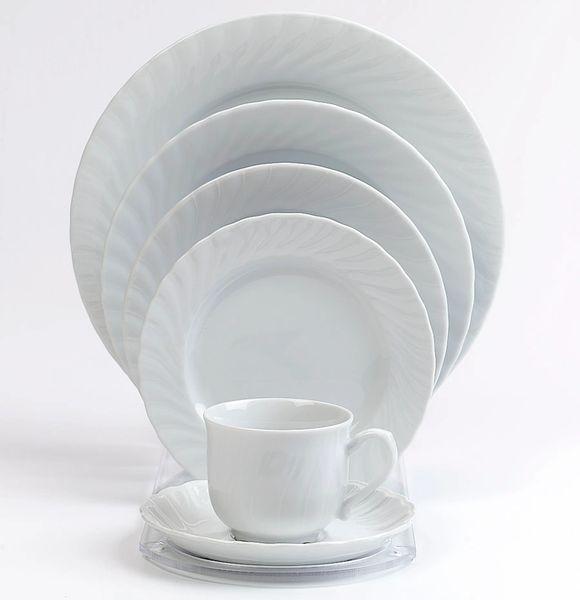 "China, Plate 10"" Royal Sheffield Porcelain - Regina White"