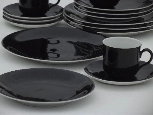 """China, Plate 10"""" Seltmann Weider Porcelain - Eclipse"""