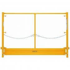 Guard Rail Toe Board, Scaffold
