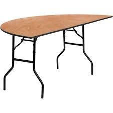 Table, Round Folding 72""