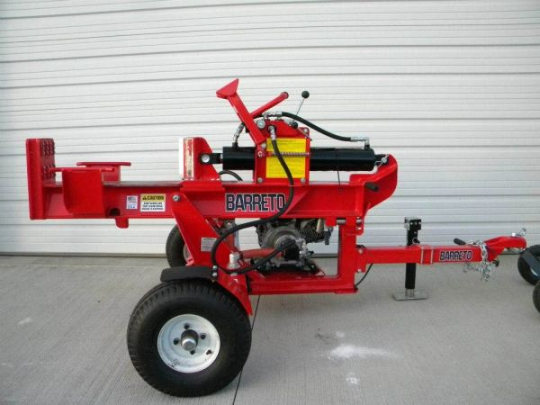 Log Splitter, Towable 8-HP Gas (33-Ton)