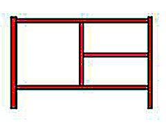Scaffold Frame, 5' x 3'
