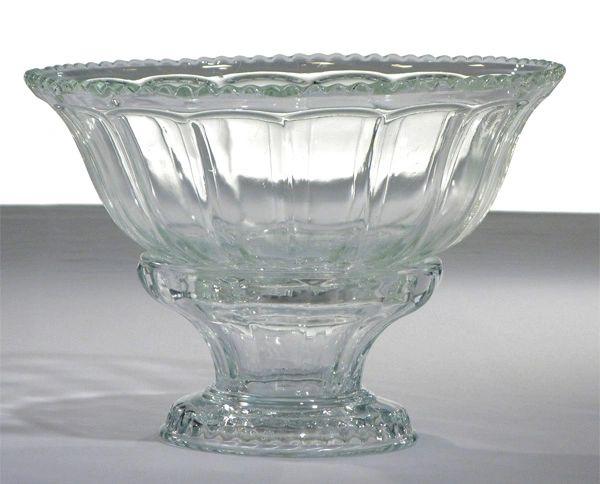 Serving Bowl, Glass w/ Base (3-GAL)