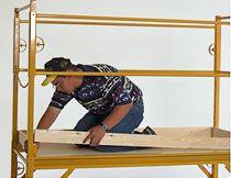 Perry Scaffold Guardrails w/ Toe 6'