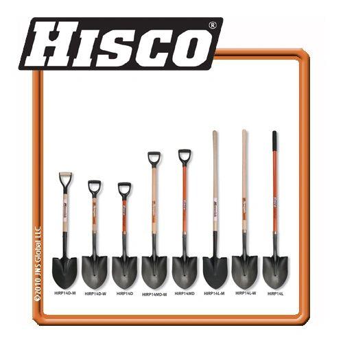 Shovel, Round Point Long handle