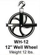 "Pulley Hoist 12"" Wheel, Scaffold"