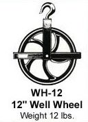 "Pulley Hoist 12"" Wheel, Scaffold"
