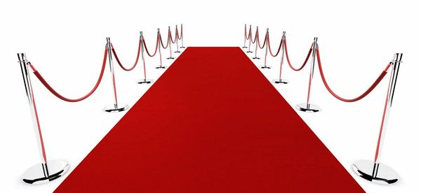 Aisle Runner, Red Carpet (3' x 25')