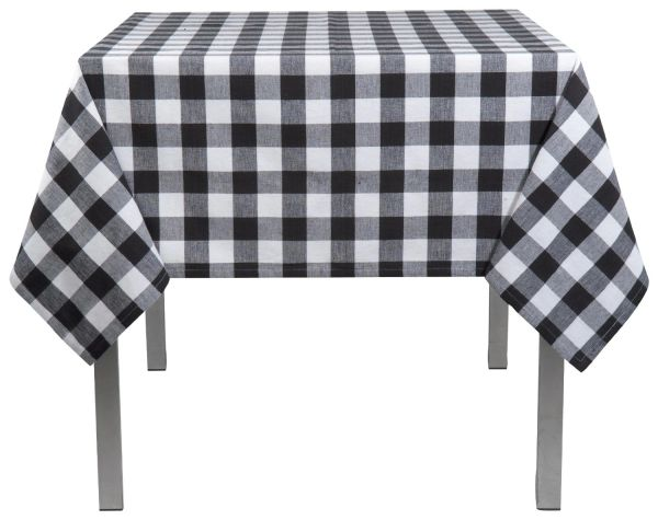 "Tablecloth, Square 72"" Gingham Checked"