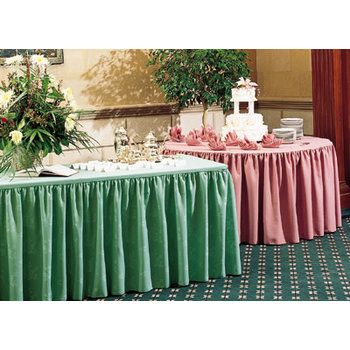 Skirting, Table (Damask Box Pleat)