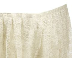 Skirting, Table (Lace)
