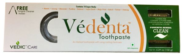 Vedic Care Herbal Vedenta Toothpaste 150 Grams