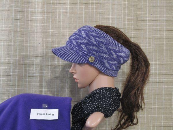 Purple Fleece Lined Sporty