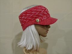 Red Mix Three Season Short Visor