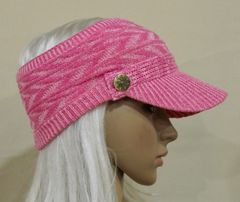 Pink Mix Three Season Visor - Long Bill