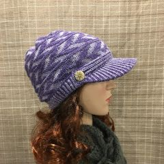 Purple Mix Beanie