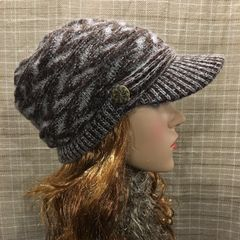 Brown Mix Beanie