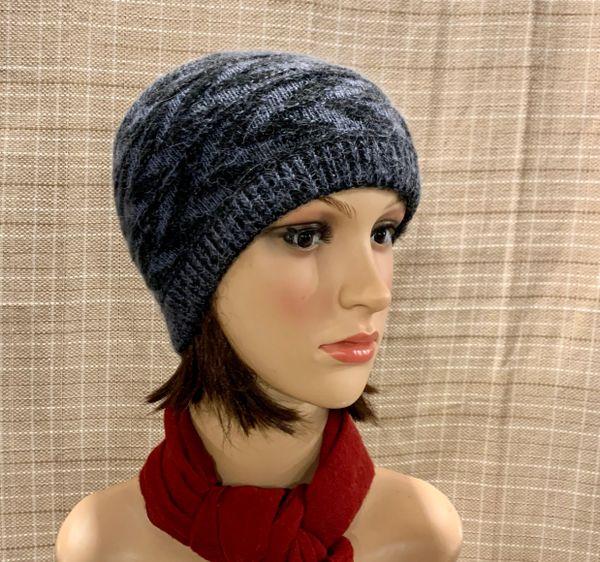 Dark Blue Headband/Neck Warmer