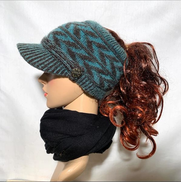 Brown Teal Sporty
