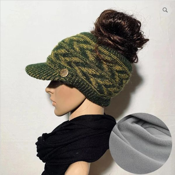 Packer Color Fleece Lined Sporty Hat