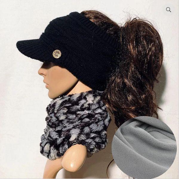Black Fleece Lined Sporty