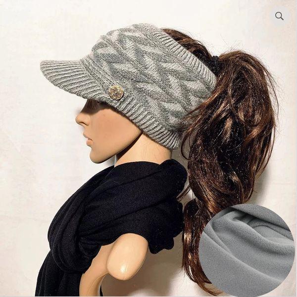 Gray Mix Fleece Lined Sporty
