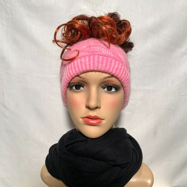 Pink mix Headband/Neck Warmer