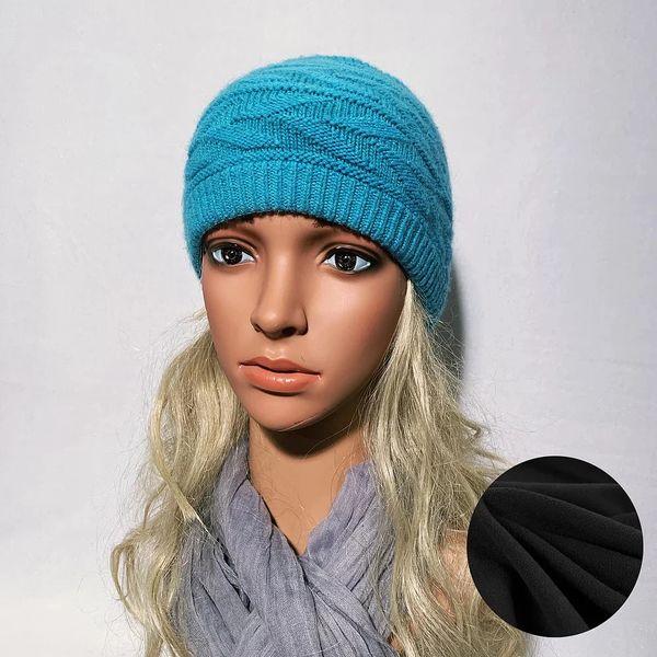 Fleece Lined Headband Turquoise