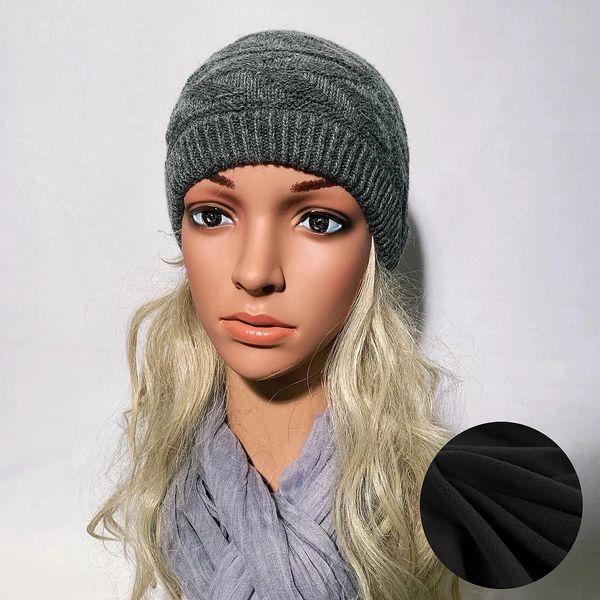 Fleece Lined Headband Gray