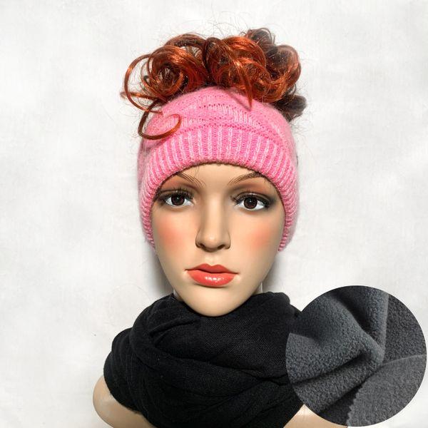 Fleece Lined Headband Pink Mix