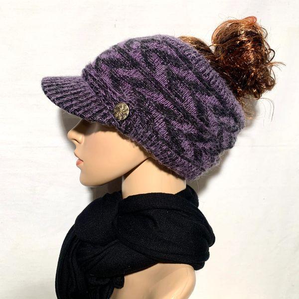 Black Purple Sporty