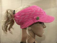 Pink Mix Three Season Short Visor