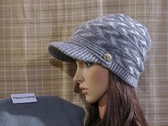 Gray Mix Fleece Lined Beanie