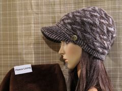 Brown Mix Fleece Lined Beanie