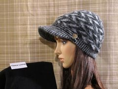 Black Mix Fleece Lined Beanie