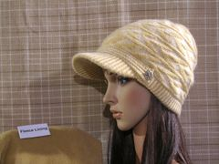 Creamy Fleece Lined Beanie
