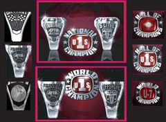 Custom Order Ladies APBA Championship Ring