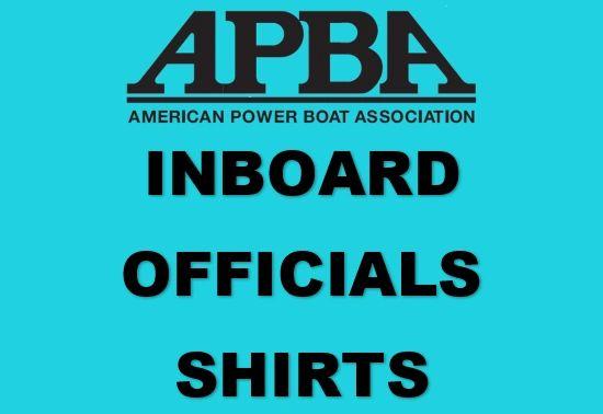 APBA Inboard Offficials Shirts