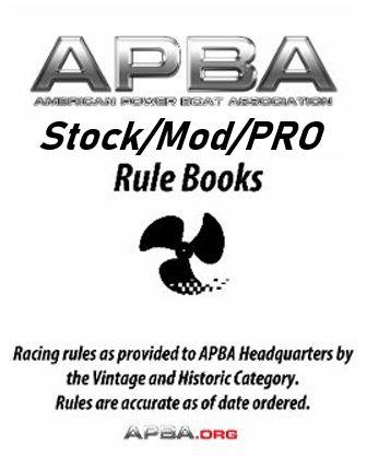 Stock/Mod/PRO Rulebook
