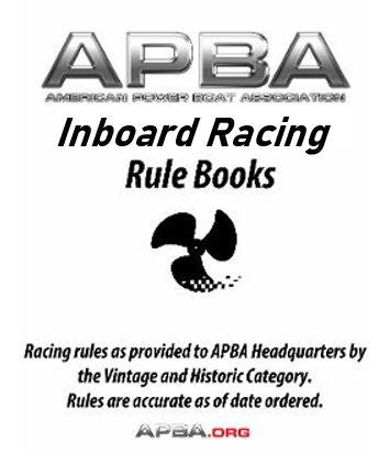 Inboard Racing Rulebook